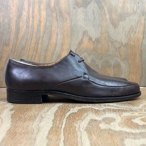 BALLY Wing By Bally Brown Leather Dress Shoes